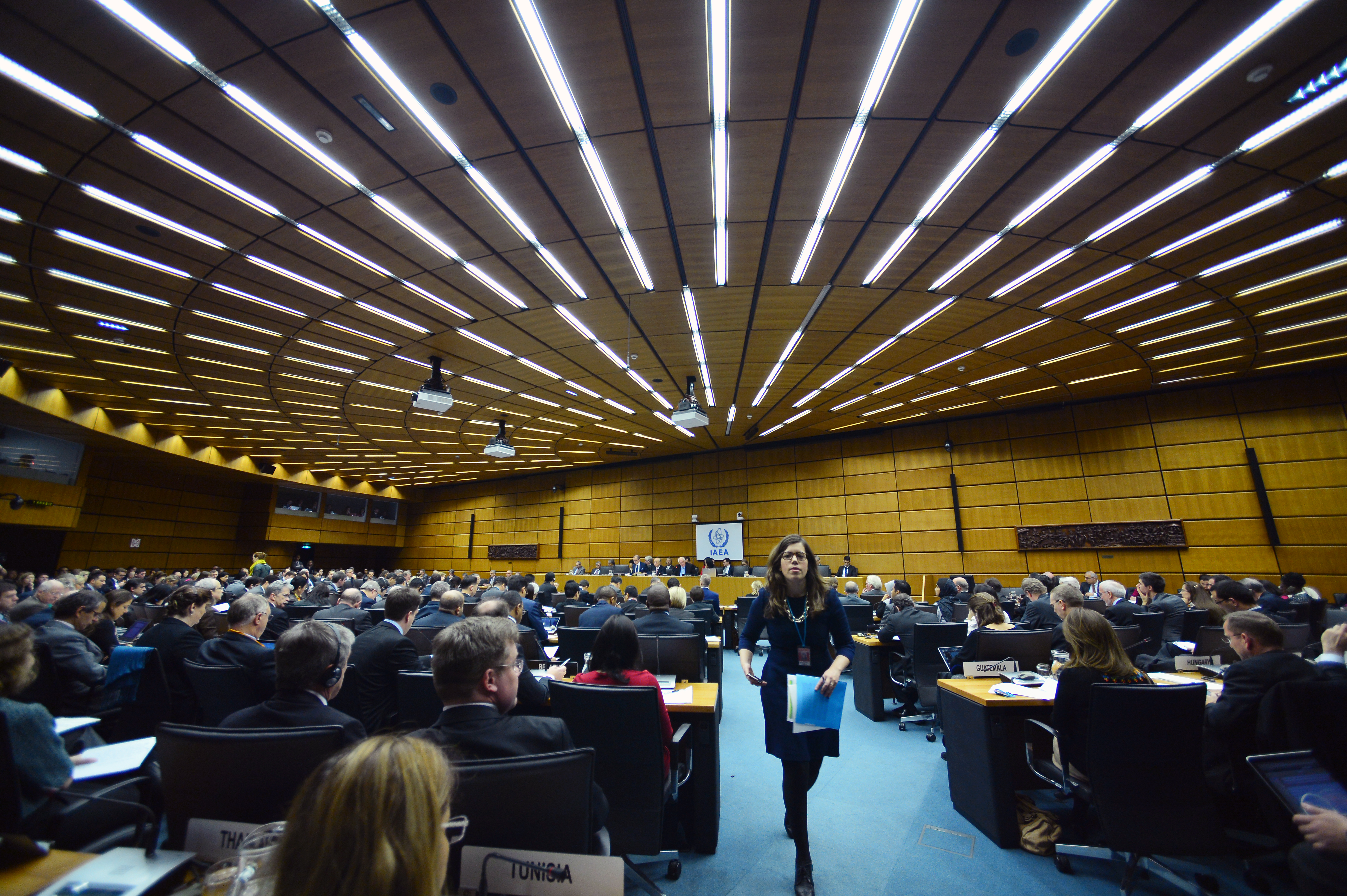 The IAEA Board Meeting, December 15, 2015.