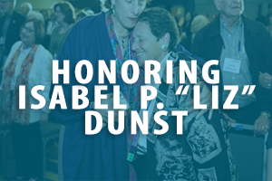 click here for more information about our celebration of Isabel P Liz Dunst