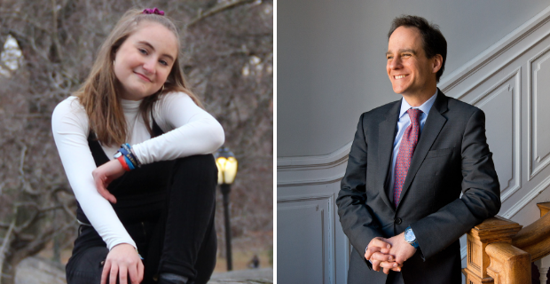 Jess Becker and Jonah Pesner headshots