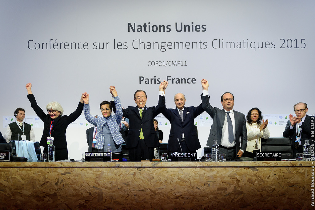 Signing of the Paris Climate Agreement