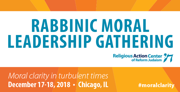 Rabbinic Moral Leadership Gathering