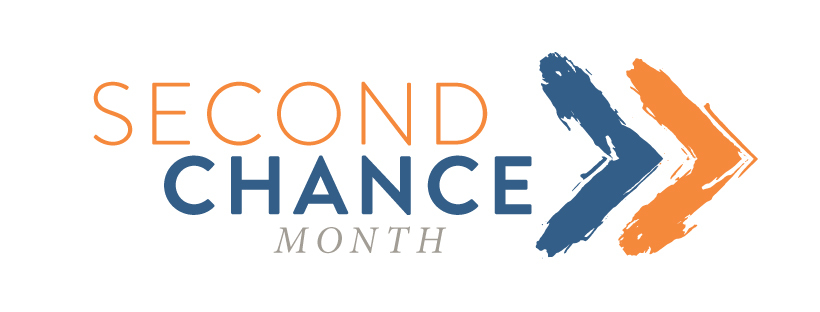 Second Chance Month Logo