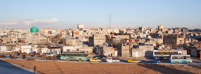 Jaramana Palestinian Refugee Camp, Syria
