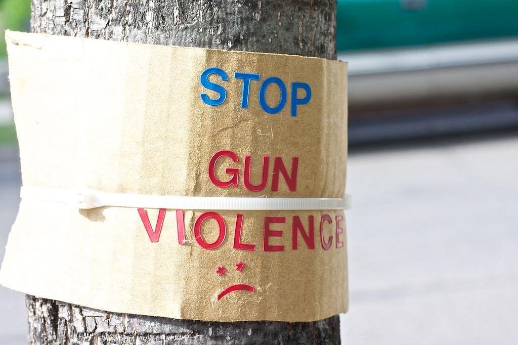 Stop gun violence tree