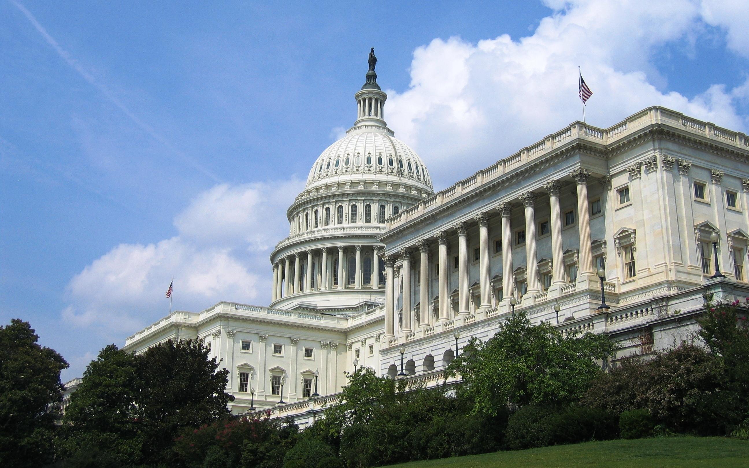 facade of US Capitol building