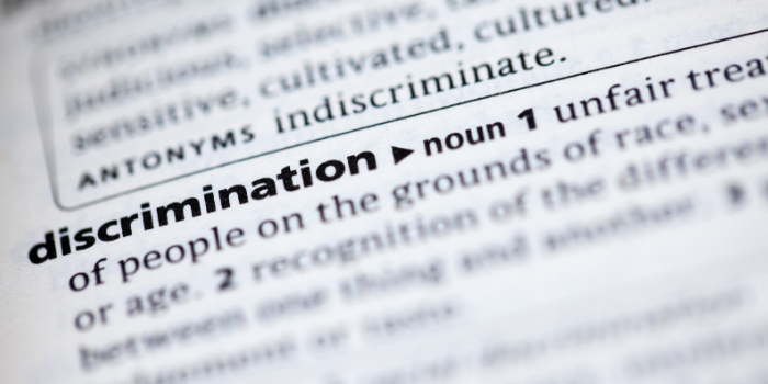 definition of discrimination