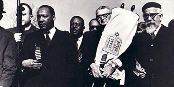 Martin Luther King Jr. and Kivie Kaplan