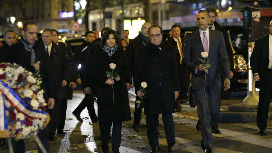 World leaders mourn those killed in last month's attacks in Paris.